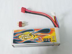11.1V 2200mAh 15C LI PO Battery  T plug