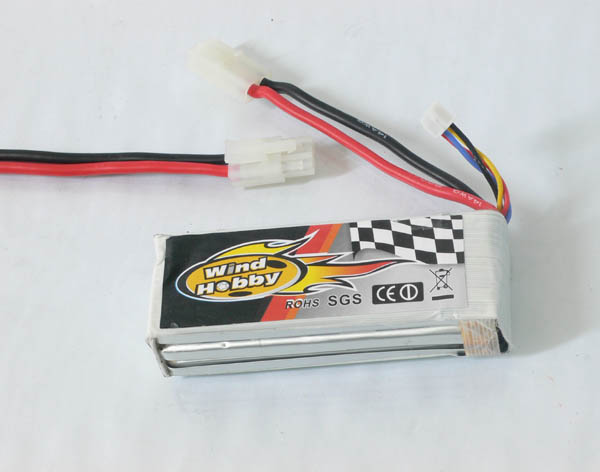 11.1V 2200mAh 15C LI PO Battery  Tamiya type plug