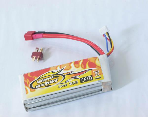 11.1V 2200mAh 20C LI PO Battery   T plug