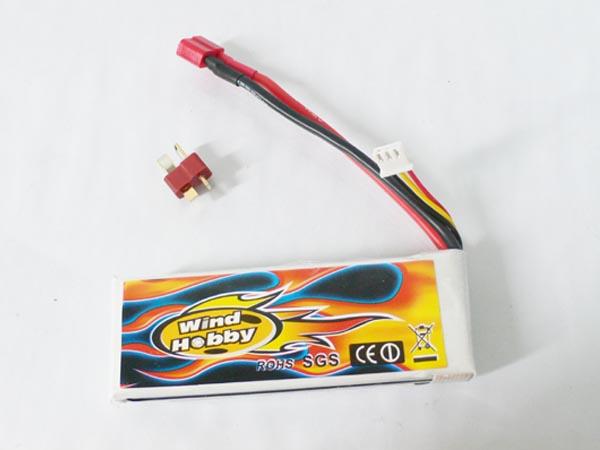 7.4V 2200mAh 15C LI PO Battery   T plug