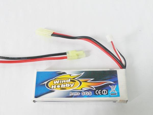 Wind Hobby 7.4V 1600mAh 15C LI PO Battery   Tamiya type plug