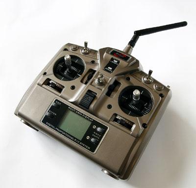 2.4G 6ch radio control system