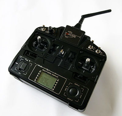 2.4G 8ch radio control system
