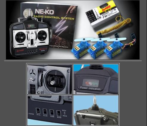 4CH Radio Control System