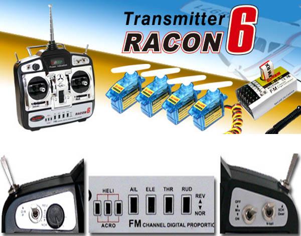 6CH Radio Control System