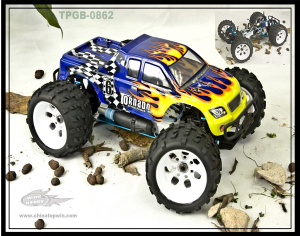 1/5th 4WD Scale Gasoline On Road Car,RC Vehicle