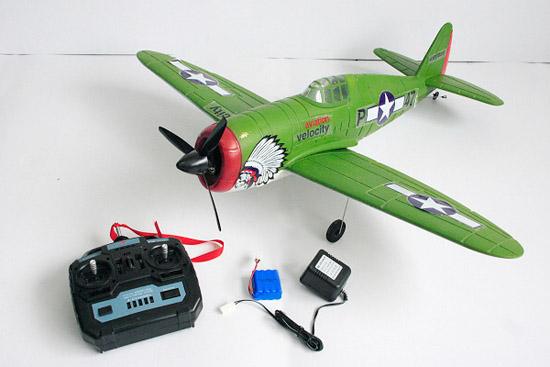 4CH brush P47 Thunder airplane