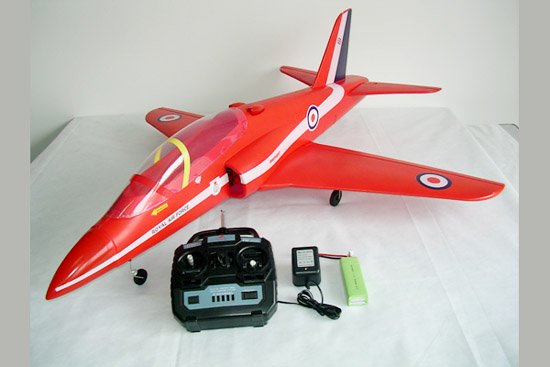 4CH brushless Red Arrows airplane
