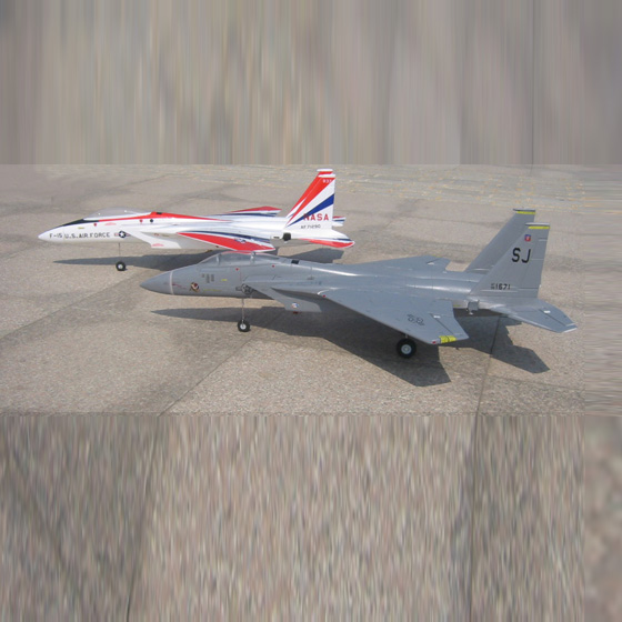 4CH brushless motor F15 Airplane