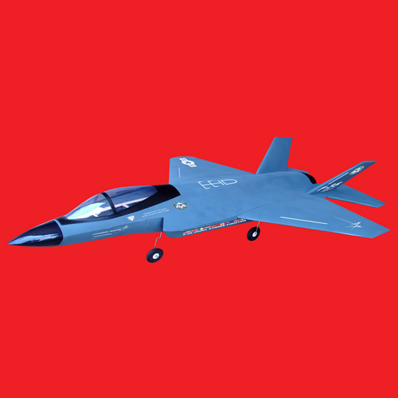 4CH brushless motor jet airplane F 35