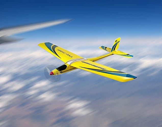 NEW 3CH radio control 738 airplane