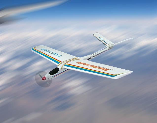 NEW 3CH radio control 739 airplane