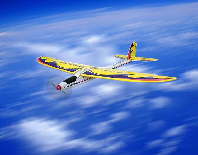 NEW 3CH radio control 742 airplane
