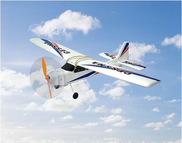 NEW 3CH radio control 745 airplane