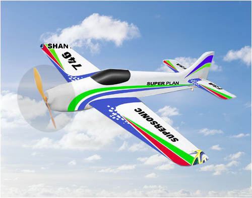 NEW 4CH radio control 746 airplane