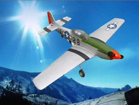 P 51 Mustang Famous WWII Warbird RTF