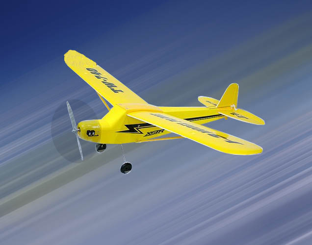 RTF Electric Scale R/C Airplane TB 20