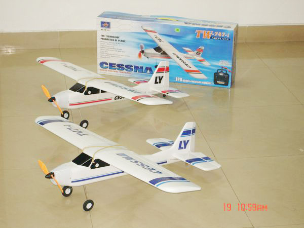 upgrade 4CH radio control 747 airplane