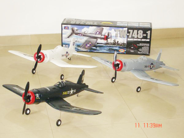 upgrade 4CH radio control 748 airplane
