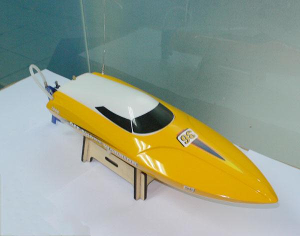 Brushless motor mini Deep Vee Boat 9301