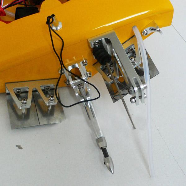 pursuit brushless motor R/C boat
