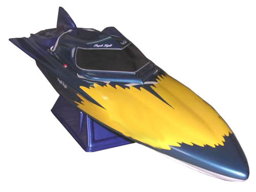 Fish-flying Petrol Boat F1