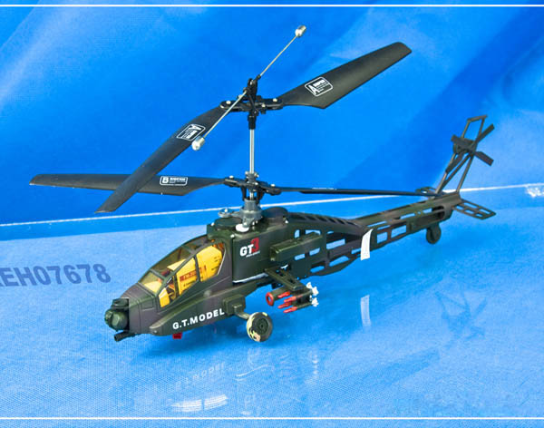 4CH HELICOPTER   Attack stones Machine