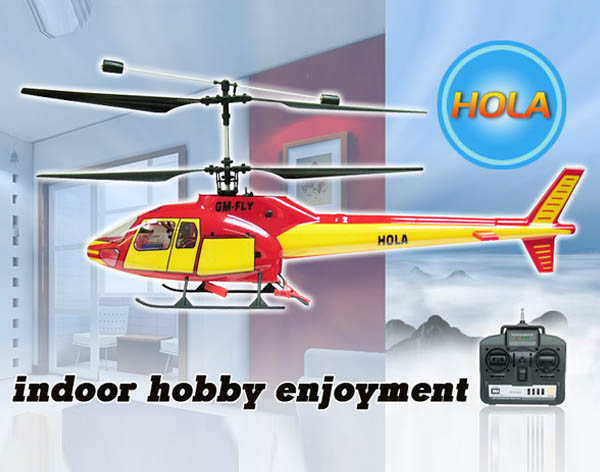 4CH R/C Helicopter   Hola
