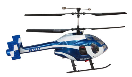 4CH R/C Helicopter MD600N