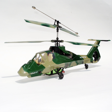 4ch Radio control double blade helicopter