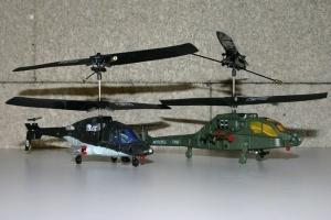 Airwolf+Apache Mini Infrared Battle Set