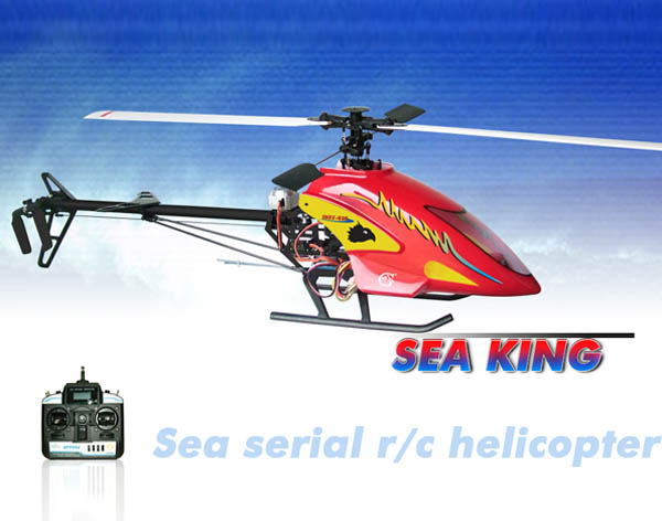 GM450 6CH CCPM R/C RTF Helicopter   Sea King