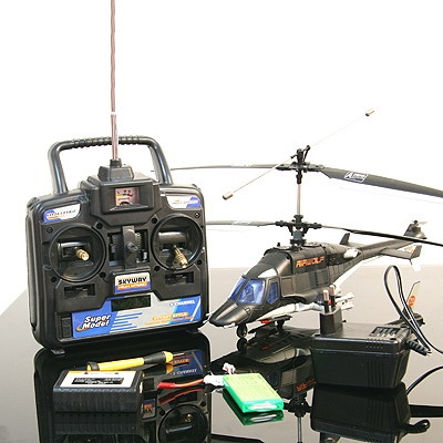 R/C 4 CH Air wolf Helicopter