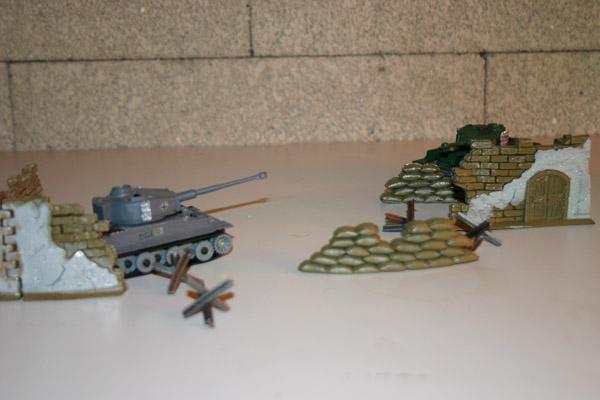Infrared Mini Combat Tanks