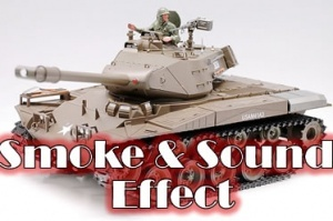 U.S. M41A3 Bulldog w/Sound and Smoke