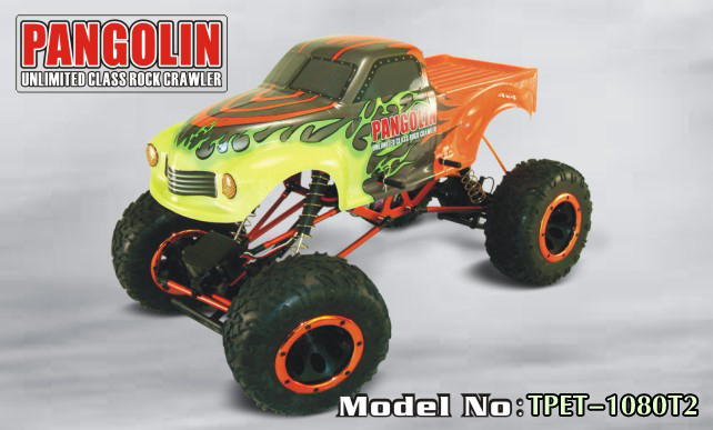 1/10th Sacle Electric Powered Off Road Crawler