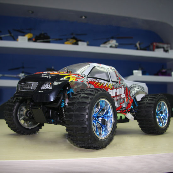 1/10th Scale Electric Powered Off Road Monster Truck
