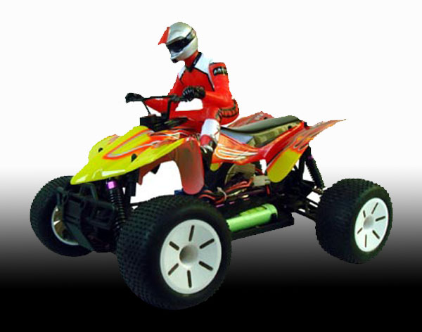 1/10th scale EP monster ATV