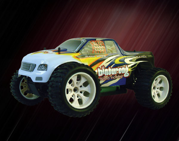 1/10th scale EP monster truck