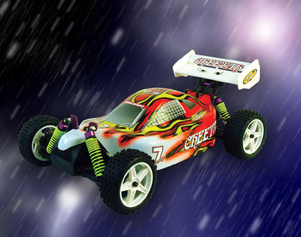 1/10th scale EP off road buggy
