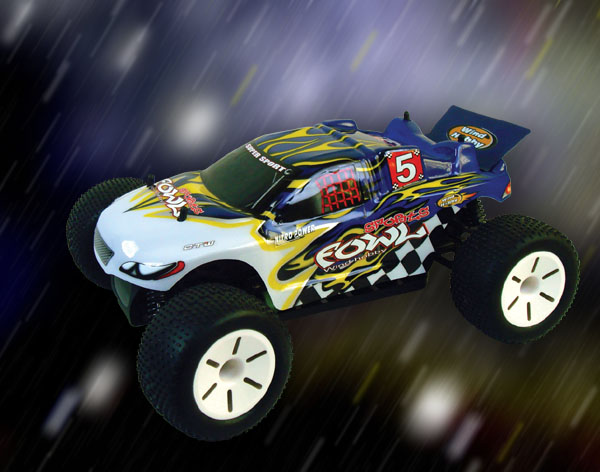 1/10th scale EP truggy