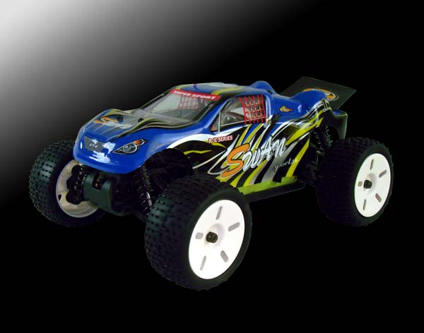 1/16th scale EP off road truggy