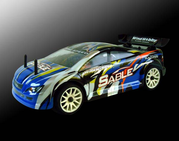 1/16th scale EP on road racing car