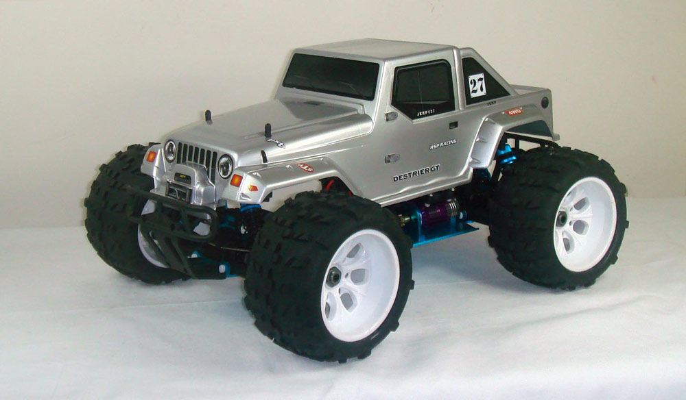 1/8th Scale Brushless Version Electric Powered Off Road Jeep