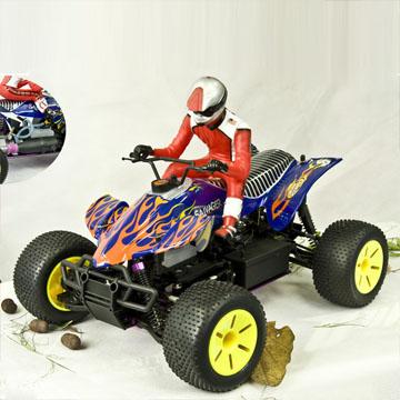 1/10th Scale Nitro Off Road ATV