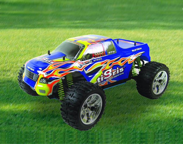 1/10th Scale Nitro Off Road Monster Truck Pivot Ball Suspension