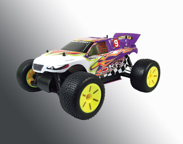 1:10th scale 4WD nitro powered truggy
