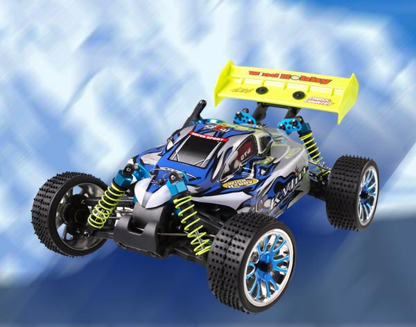 1/16th Scale 4WD nitro gas powered off road buggy