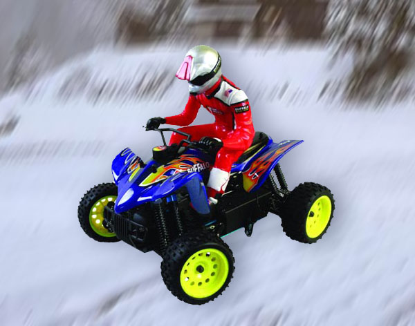 1/16th scale nitro power monster ATV
