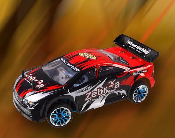1/16th scale on road racing car